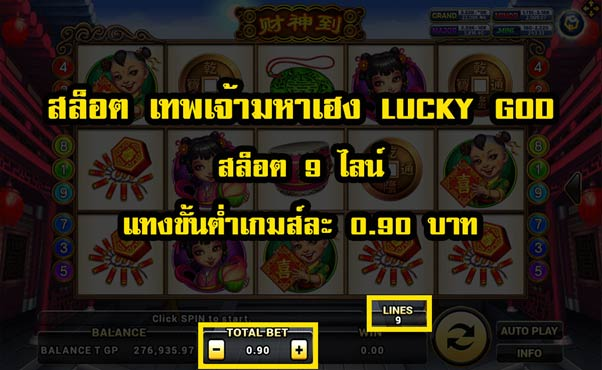 Lucky God slot